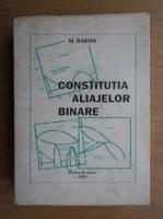 Anticariat: Mario Nardin - Constitutia aliajelor binare