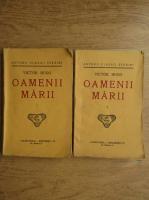 Anticariat: Victor Hugo - Oamenii marii (1930, 2 volume)