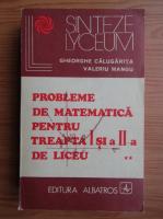 Anticariat: Gheorghe Calugarita - Probleme de matematica pentru treapta I si a II-a de liceu (volumul 2)
