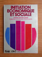 Anticariat: Initiation economique et sociale. Classe de seconde