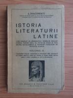 Ion Diaconescu - Istoria literaturii latine (volumul 2, 1926)