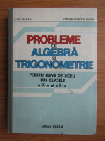 Anticariat: Liviu Pirsan - Probleme de algebra si trigonometrie pentru elevii de liceu din clasele a IX-a si a X-a, 1984