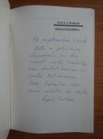 Anticariat: Paul Cioran - Dezamagirea (cu autograful autorului)
