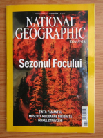 Revista National Geographic Romania, august 2008