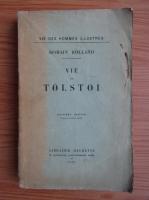 Anticariat: Romain Rolland - Vie de Tolstoi (1922)
