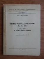 Anticariat: Silvia Cucu - Istoria teatrului universal. Secolul XIX