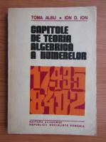 Toma Albu, Ion D. Ion - Capitole de teoria algebrica a numerelor