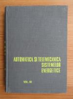 Anticariat: C. I. Penescu - Automatica si telemecanica sistemelor energetice (volumul 3)