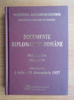 Anticariat: Documente diplomatice romane (volumul 19)