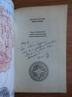 G. D. Iscru - Traco-Geto-Dacii natiunea matca din spatiul Carpato-Danubiano-Balcanic (cu autograful autorului)