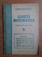 Anticariat: Gazeta Matematica, anul LXXXIII, nr. 5, 1978