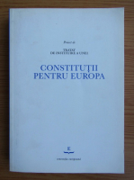 Anticariat: Proiect de tratat de instruire a unei Constitutii pentru Europa
