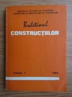 Anticariat: Buletinul constructiilor (volumul 3, 1984)