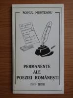 Romul Munteanu - Permanente ale poeziei romanesti