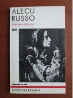 Anticariat: Alecu Russo - Pagini alese
