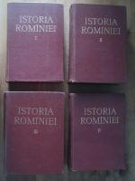 Istoria Romaniei (4 volume, editura Academiei 1960-1964)