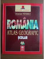 Anticariat: Octavian Mandrut - Romania, atlas geografic scolar