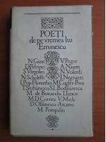 Poeti de pe vremea lui Eminescu