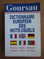 Dictionnaire Europeen des mots usules