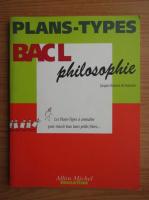 Anticariat: Plans-Types Bac L philosophie
