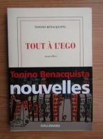 Tonino Benacquista - Tout a l'ego