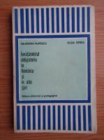 Anticariat: Valentin Filipescu, Olga Oprea - Invatamantul obligatoriu in Romania si in alte tari