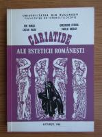 Anticariat: Ion Ianosi - Cariatide ale esteticii romanesti