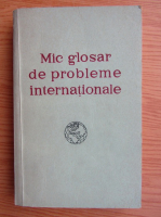 Anticariat: Mic glosar de probleme internationale