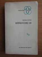 Michel Butor - Repertoire (volumul 3)