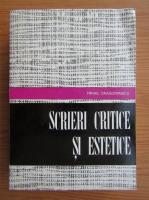 Mihail Dragomirescu - Scrieri critice si estetice