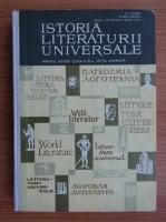 N. I. Barbu - Istoria literaturii universale. Manual pentru clasa a XI-a (1971)