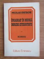 Anticariat: Nicolae Cristache - Incadrat in munca, doresc eternitate
