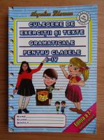 Anticariat: Angelica Gherman - Culegere de exercitii si texte gramaticale pentru clasele I-IV