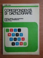 Anticariat: Aurel Boia - Corespondenta si dictilografie