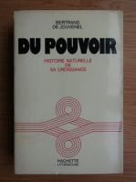 Bertrand de Jouvenel - Histoire de sa croissance