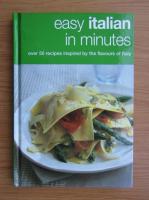 Anticariat: Easy italian in minutes