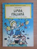Anticariat: Haritina Gherman - Limba italiana, manual pentru clasa a II-a (1992)