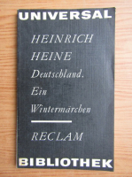Anticariat: Heinrich Heine - Deutschaland ein wintermarchen