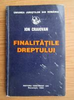Ion Craiovan - Finalitatile dreptului