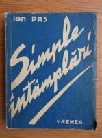 Anticariat: Ion Pas - Simple intamplari (1943)