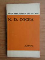 N. D. Cocea - Jurnal