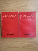 Anticariat: V. Em. Galan - Zorii robilor (2 volume)