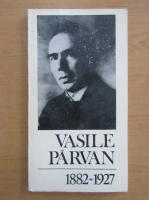 Anticariat: Alexandru Zub - Vasile Parvan