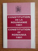 Anticariat: Constitution de la Roumanie 1991
