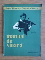 Anticariat: Ionel Geanta - Manual de vioara (volumul 3, 1964)
