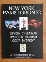 Anticariat: New York, Paris, Toronto. Intalnire la Bucuresti