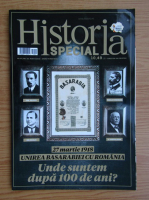 Anticariat: Revista Historia Special, anul VII, nr. 22, martie 2018