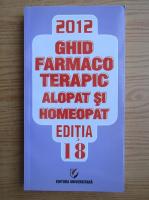Anticariat: Dumitru Dobrescu - Ghid farmacoterapic alopta si homeopat