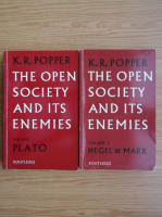 Karl R. Popper - The open society and its enemies (2 volume)