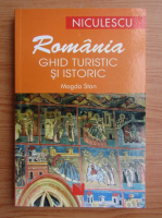 Anticariat: Magda Stan - Romania ghid turistic si istoric